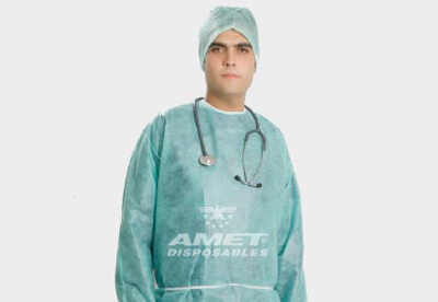 35 gr. surgical gown.