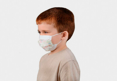 Surgical mask kids, 3 layer